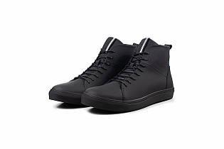 Зимние ботинки из кожи для мужчин - Emperio