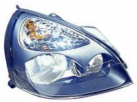Фара передняя для Renault Clio 05-09 левая (FPS) серая под электрокорректор
