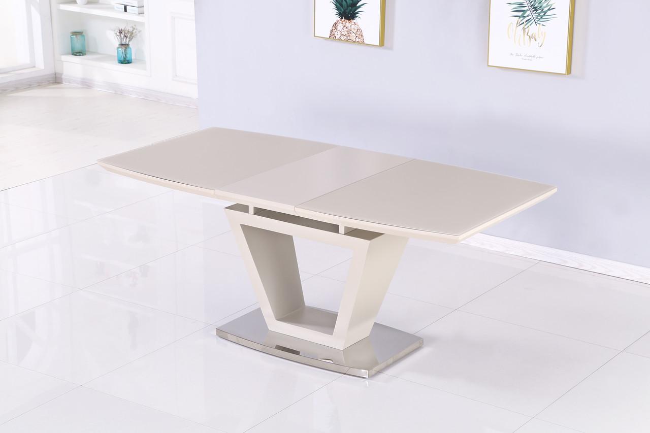 Раздвижной стол Seattle  DT-9801 Mokko (мокко) сатин 140/180