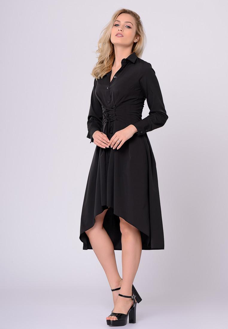Платье LiLove 389-1 42 черный