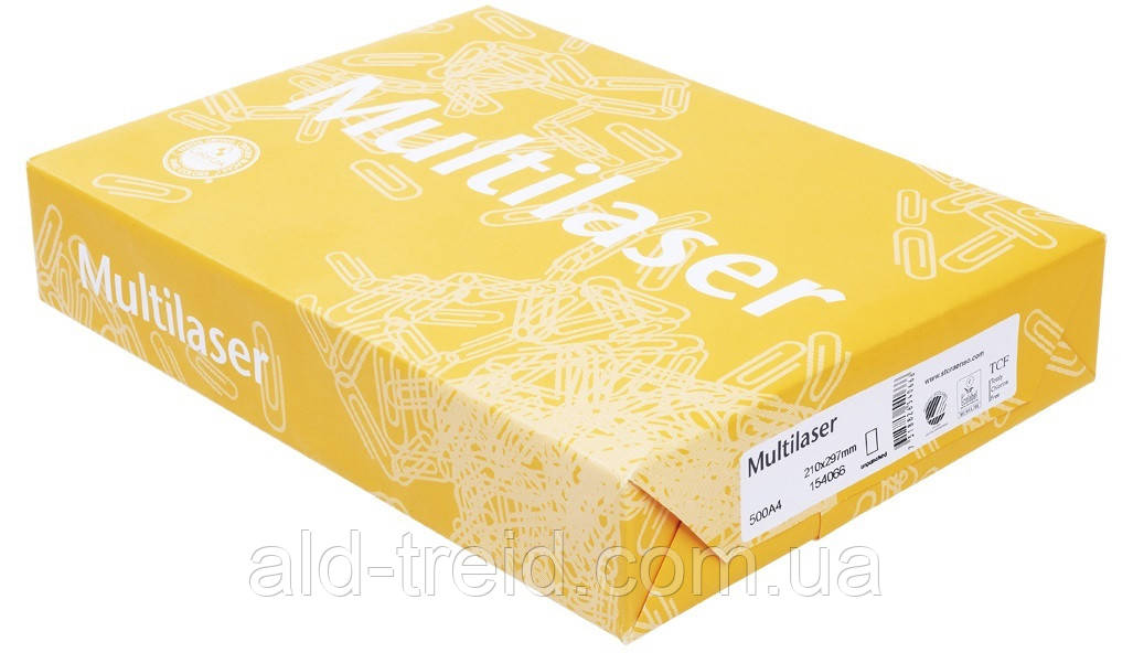 Бумага офисная Multilaser A4 *при заказе от 5 пачек