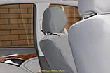 Чехлы салона Audi А-6 (C5) раздельний c 1997-2004 г, /Светло Серый, фото 3
