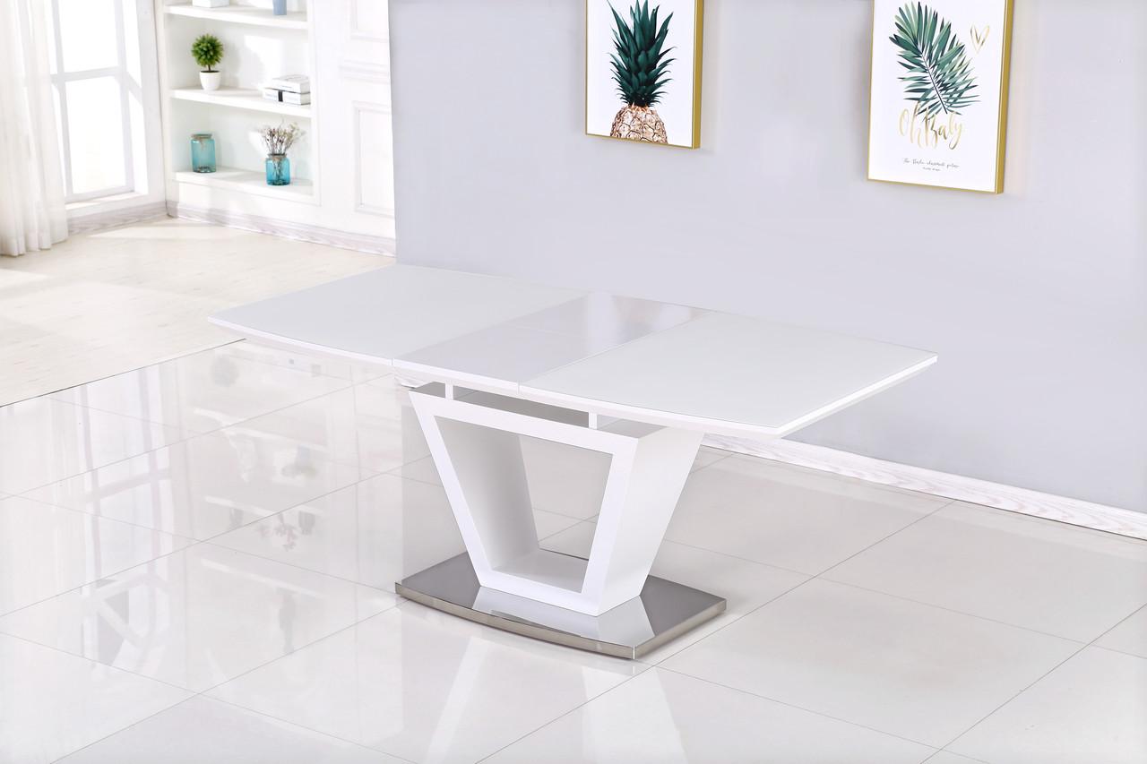 Раздвижной стол Seattle  DT-9801 140/180 супер белый сатин