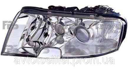 Фара передняя для Skoda Superb 02-08 правая (HELLA) H7+H3+H3