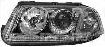 Фара передняя для Volkswagen Passat B5 00-05 правая (HELLA) H7+H7 под электрокорректор