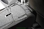 Чехлы салона Mercedes W211 Е-класc с 2002-09 г MAXI деленный, /Черный, фото 4