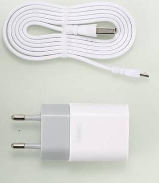 Сетевое ЗУ Remax Traveller series USB Data Cable RP-U14 [RP-U14MICRO-WHITE], фото 2