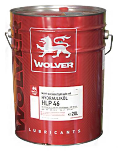 WOLVER HLP 46 20л Масло гідравлічне