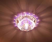 JD125 G9 с LED подсветкой RGB 2,5W