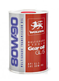 WOLVER MULTIGRADE HYPOID GEAR OIL 80W90 GL-5 1л Масло трансмісійне