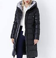Длинное зимнее женское пальто..Женский пуховик.Арт.01170