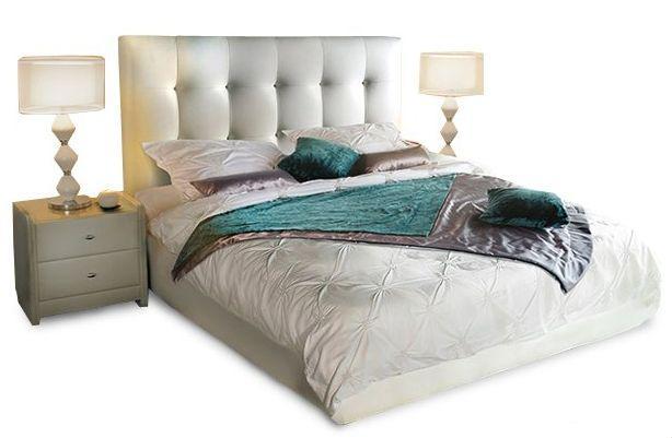 Ліжко з м'якою спинкою Оскар (160 х 200) КІМ