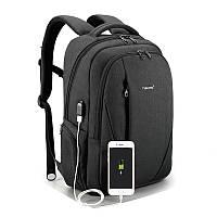 """Городской рюкзак для ноутбука 15,6"""" Тigernu (Тайгерну), черный цвет, фото 1"""