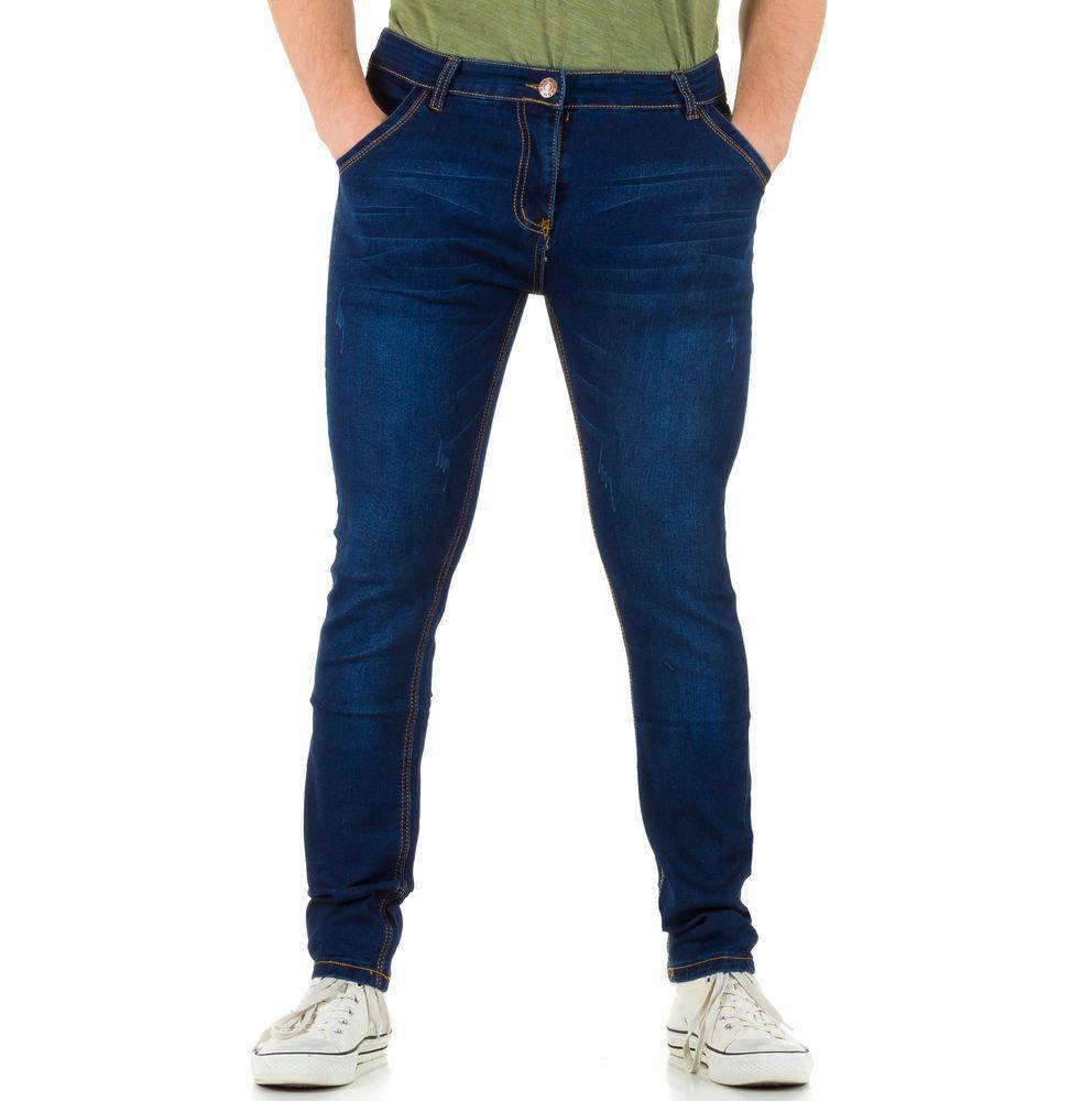 Классические джинсы мужские N&G 79 (Европа), Синий