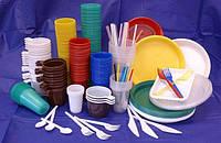 Посуда пластиковая одноразовая