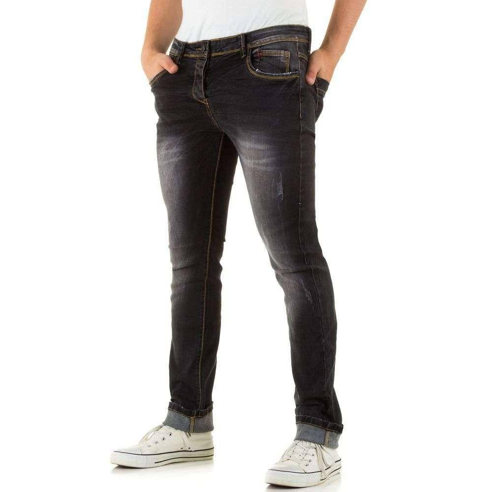 Мужские джинсы с низкой посадкой Black Ace (Европа), Черный