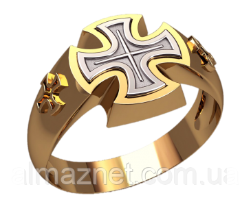 Золотой перстень Железные кресты