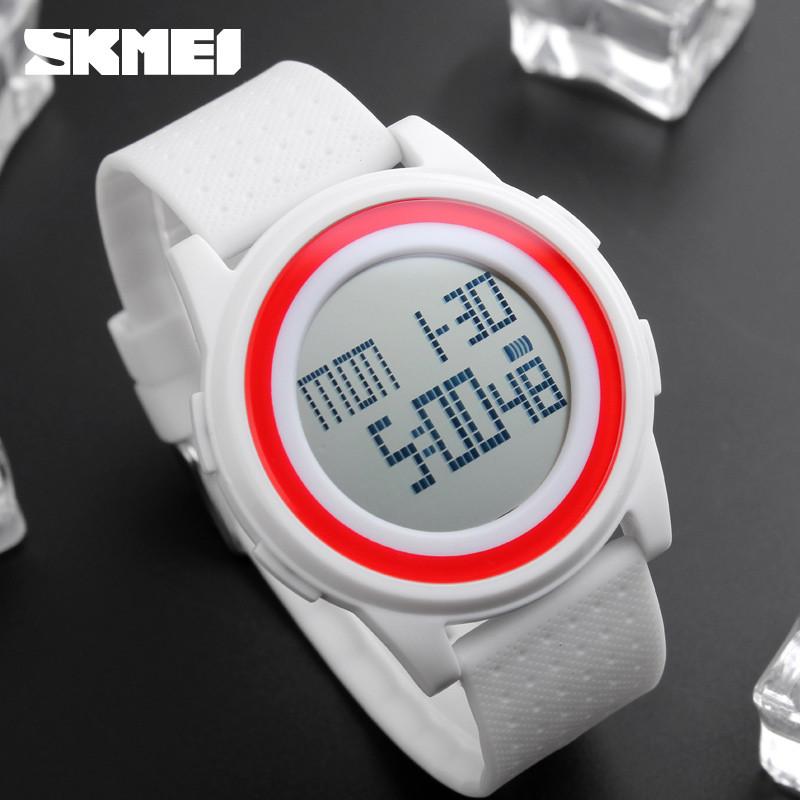 Skmei 1206  Ultra New Белые спортивные часы