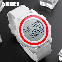 Skmei 1206  Ultra New Белые спортивные часы, фото 1