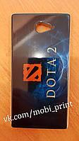 Чехол для Sony Xperia M2 D2302/2303(Dota 2)