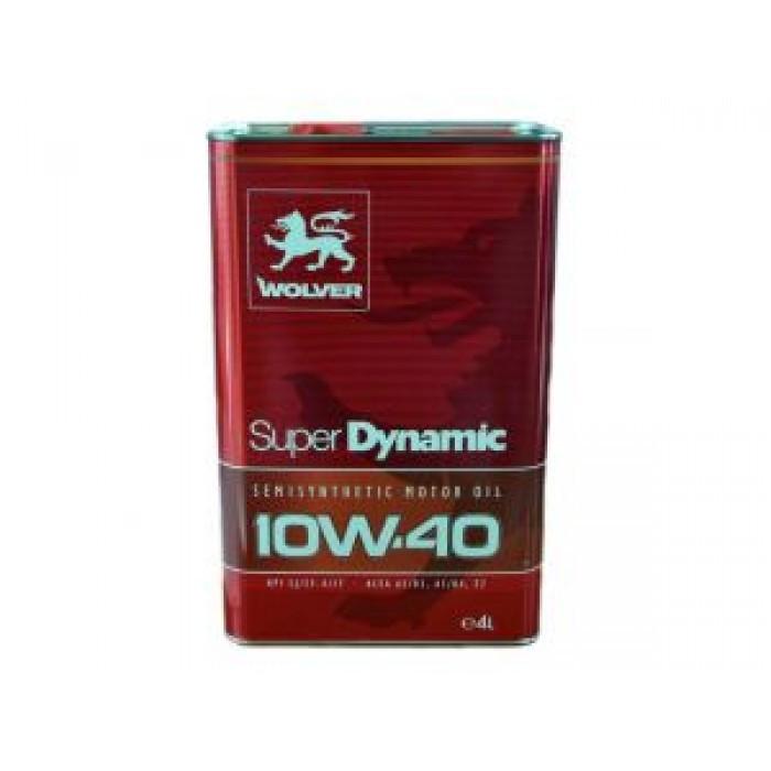 WOLVER Super Dinamic 10W-40, API SL/CF 4л Масло моторне