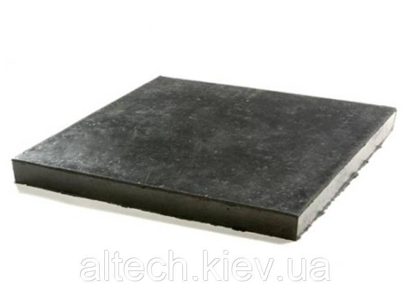 Техпластина (резина) ТМКЩ Толщина 40мм. ГОСТ 7338-90. в листах 500х500 мм.