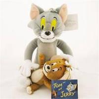 Набор Мягкая плюшевая игрушка Том и Джерри Tom and Jerry