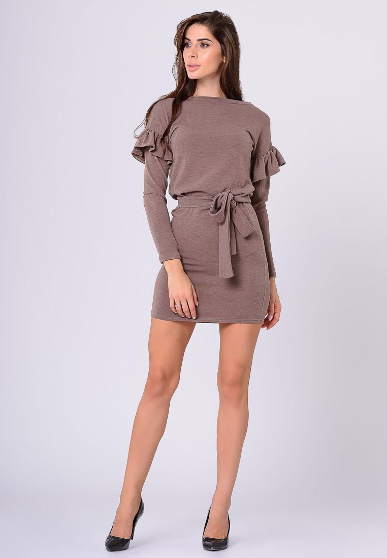 Платье LiLove 385 42 бежевый