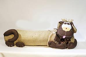 Подушка Собака от сквозняка