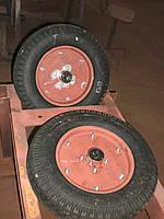 Колесо К-96 опорне 4.00-10 посилене з пальцем ф25мм