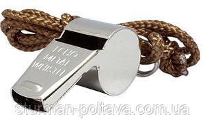 Поліцейський свисток GI Style Police Whistle Silver Rothco
