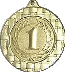 Медаль наградная 70мм. D621 золото
