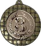 Медаль наградная 70мм. D621 бронза