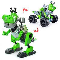 """Игровой набор SUNROZ Botasaur конструктор """"Динозавр""""  Зеленый (SUN2228)"""