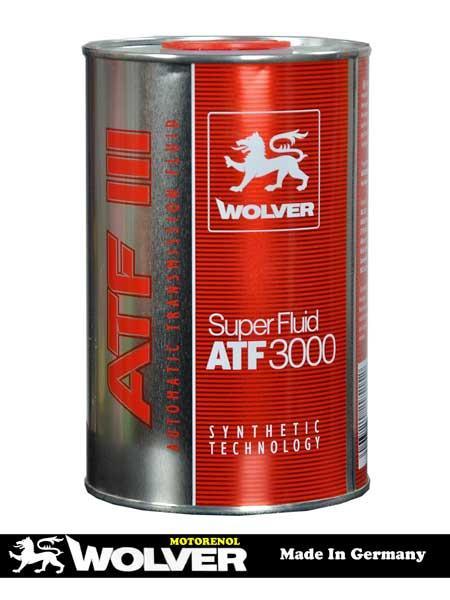 WOLVER SUPER FLUID ATF 3000 1л