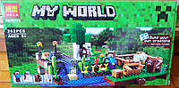 Конструктор Bela 10175 Minecraft Майнкрафт Ферма 262 детали, фото 1