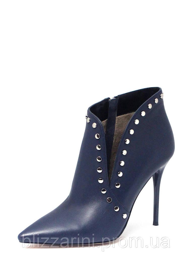 90aa2a18d372 Женские ботинки Blizzarini (синий) кожа - размер 35-40