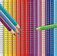 Олівці кольорові акварельні Faber-Castell Grip 2001 тригранні 36 кольорів, металева коробка, 112435, фото 7