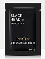 Черная маска для лица и носа от черных точек Black Head