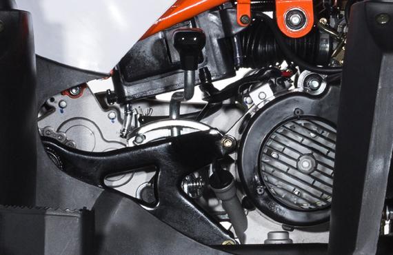 Квадроцикл KAYO AU180 Двигатель