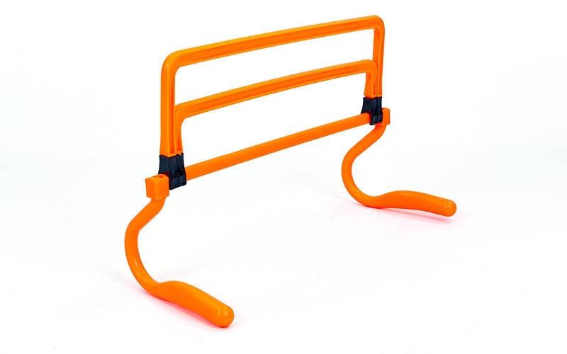 Барьер регулируемый универсальный (1шт)  (пластик, р-р 15-33x46x30см, оранжевый). АКЦИЯ!