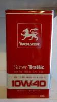 WOLVER Super Traffic 10W-40, API SJ/CF-4 5л Масло моторне
