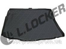 Коврик багажника (корыто)-полиуретановый, черный Kia Ceed II HB (киа сид 2012+)