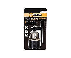 Патрон для дрели Polax с ключом 1.5-13мм 1/2-20UNF (55-001)