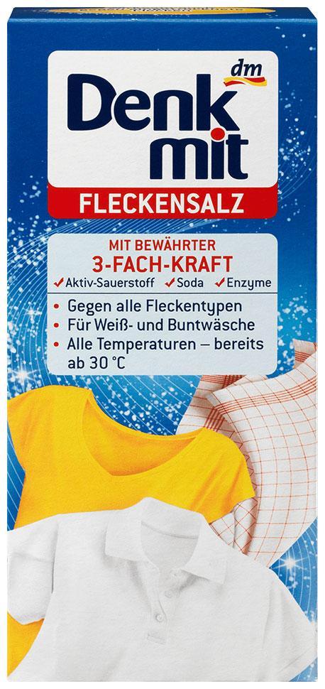 Соль универсальная для стирки Denkmit пятновыводитель 500г