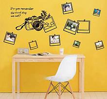 Вінілова наклейка фотоапарат Nikon