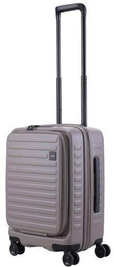 Малый пластиковый чемодан Lojel CUBO 18 Lj-CF1627-1S_GR, 37/42 л
