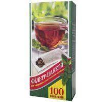 Фильтр-пакет для заваривания чая L (уп. 100 шт)