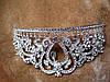 Диадема свадебная высокая Тиара корона Фиона Тиара Виктория свадебная Корона украшения короны тиары диадемы, фото 9