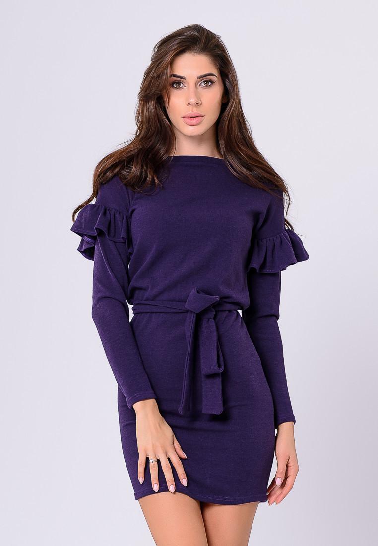 Платье LiLove 385-2 44 фиолетовый